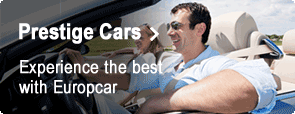 Prestige Cars - Experience the best with Europcar