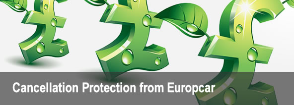 Cancellation Protection from Europcar Channel Islands